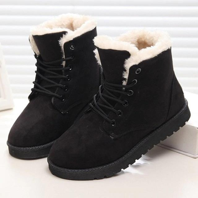 Fluffy Snow Boots