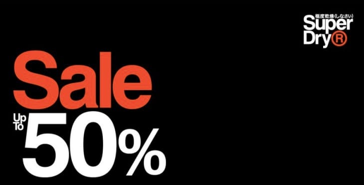 WINTER SALE on SUPERDRY