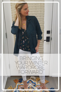 Bringing Your Winter Wardrobe Forward
