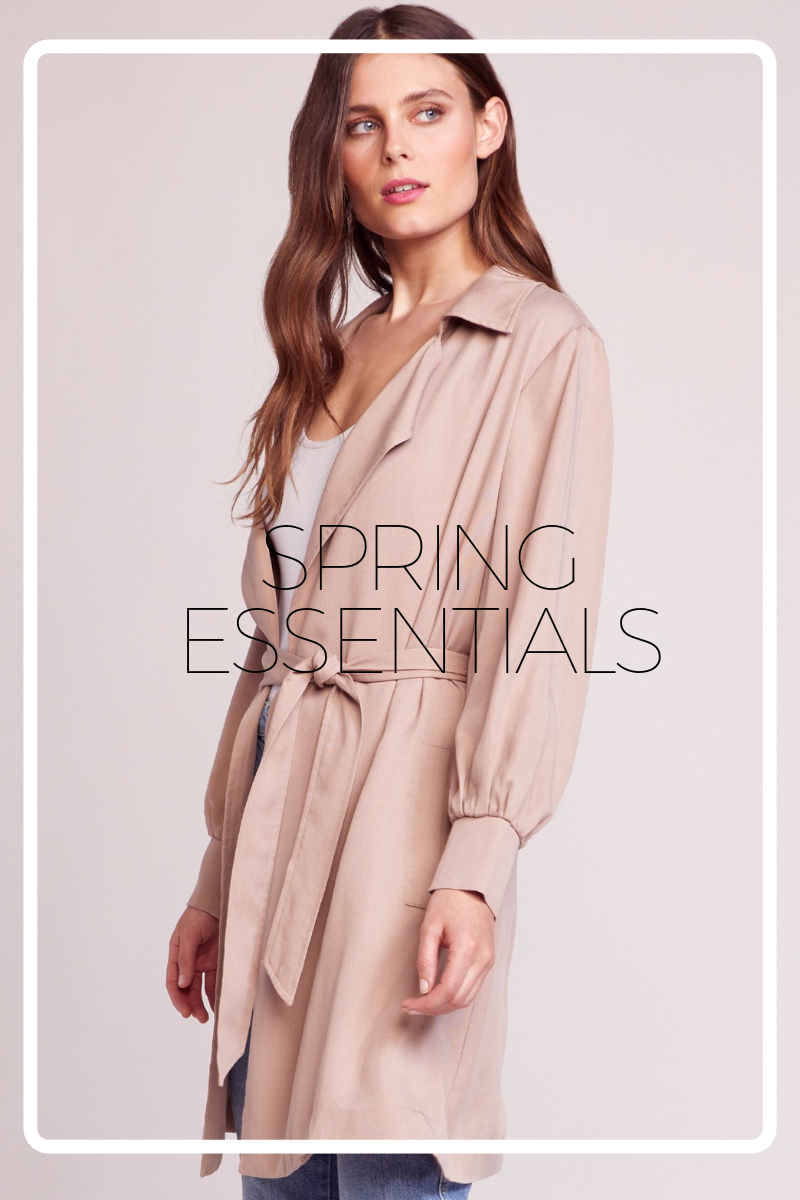 SPRING ESSENTIALS: Closet Refresh
