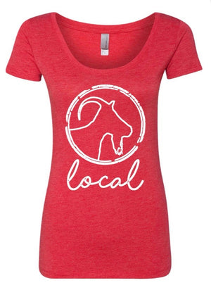 Red Bucktown Local Tee
