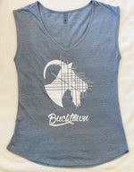 Women's Sleeveless Bucktown Goat