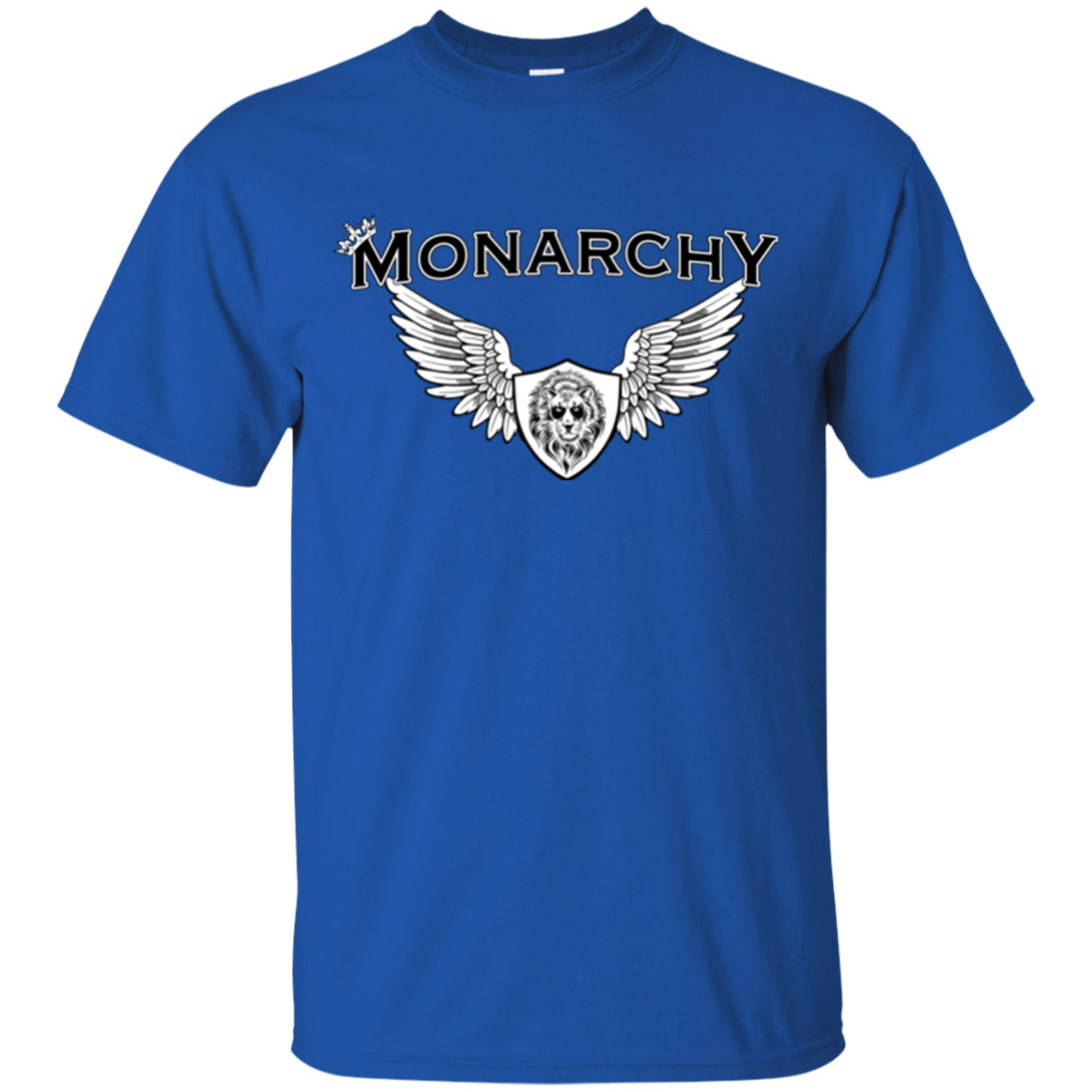 MONARCHY LION WH/BLK T-SHIRT
