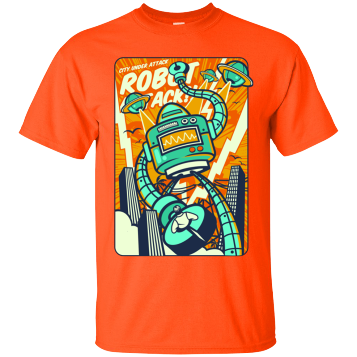 ROBOT ATTACK T-SHIRT