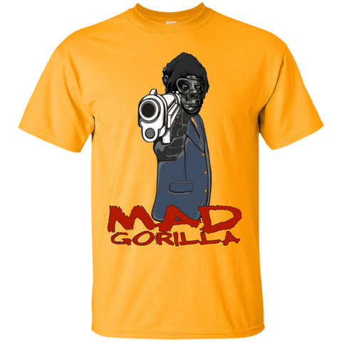 MAD GORILLA WITH GUN T-SHIRT
