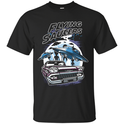 FLYING SAUCERS 2 T-SHIRT