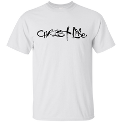 CHRIST LIFE BLK T-SHIRT