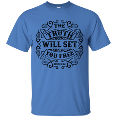 THE TRUTH WILL SET YOU FREE T-SHIRT