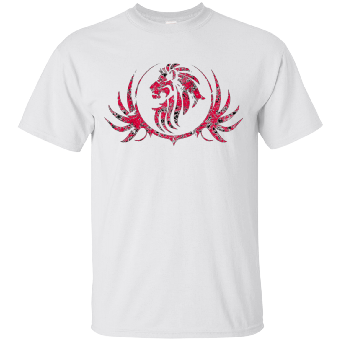 ROYAL LION RED T-SHIRT