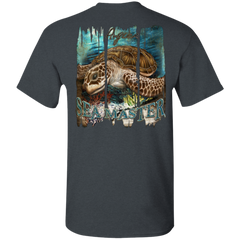 ANGLER SEA TURTLE T-SHIRT
