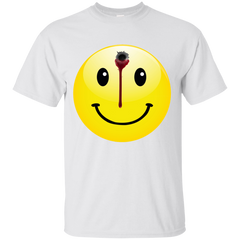 BULLET TO THE HEAD SMILEY T-SHIRT