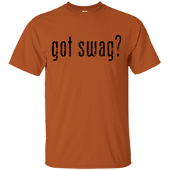 GOT SWAG? BLK T-SHIRT