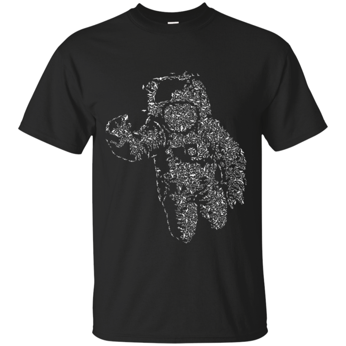 FLYING ASTRONAUT T-SHIRT