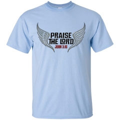 PRAISE THE LORD WINGS T-SHIRT