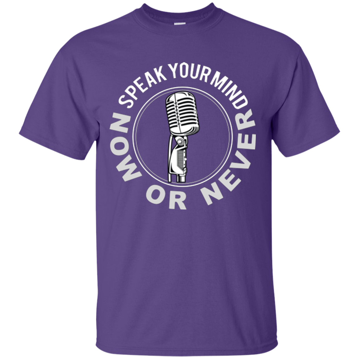 SPEAK YOUR MIND T-SHIRT