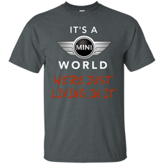 IT'S A MINI WORLD BLK T-SHIRT