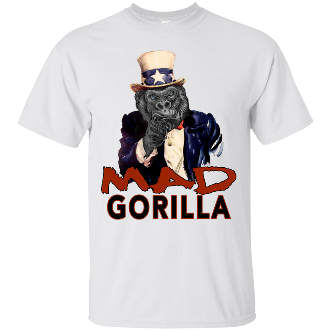 MAD GORILLA UNCLE SAM T-SHIRT