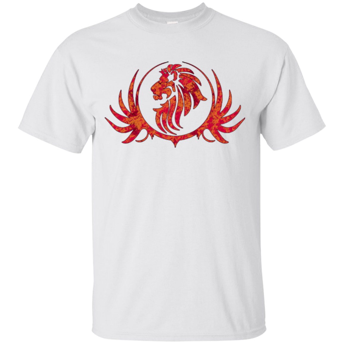 ROYAL LION RED/GOLD T-SHIRT