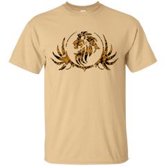 ROYAL LION GOLD/BLK T-SHIRT