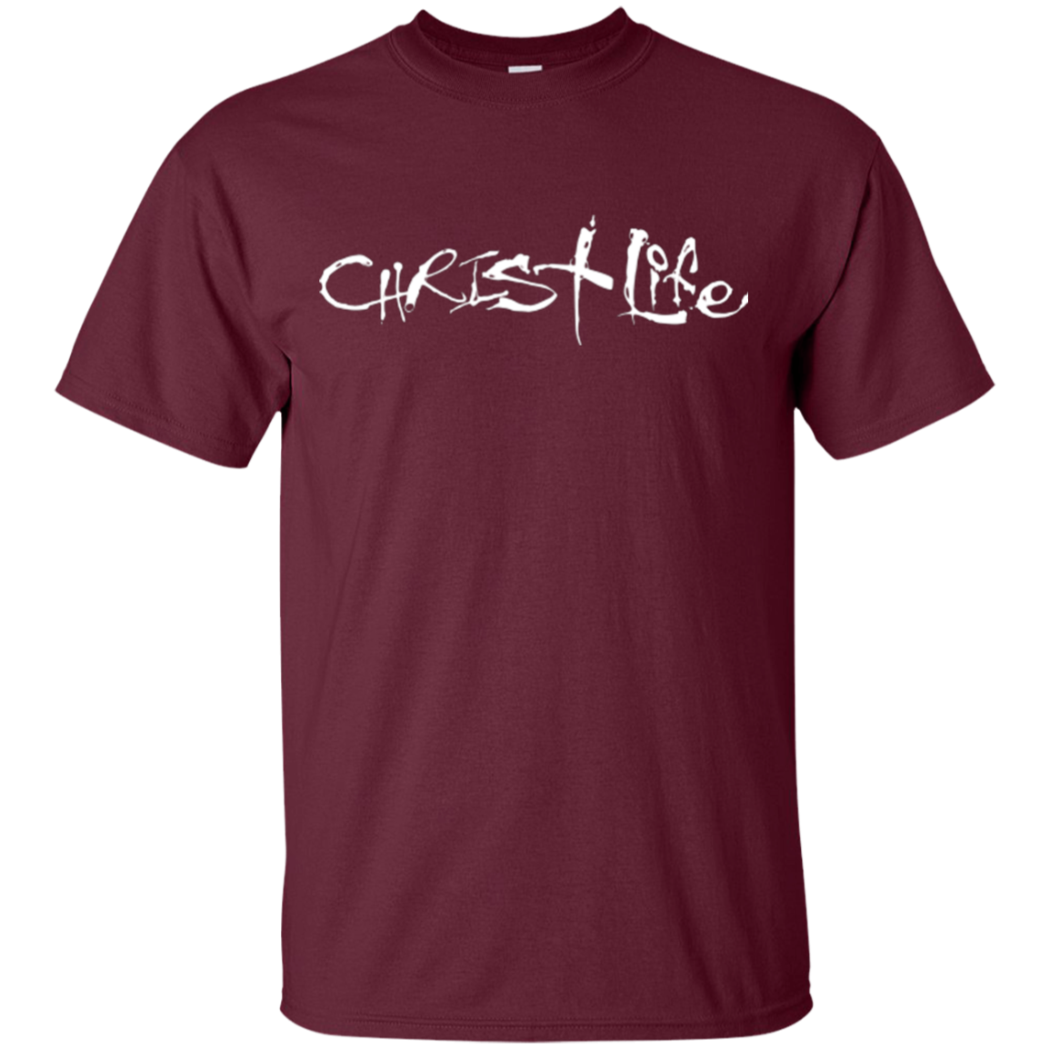CHRIST LIFE WHT T-SHIRT