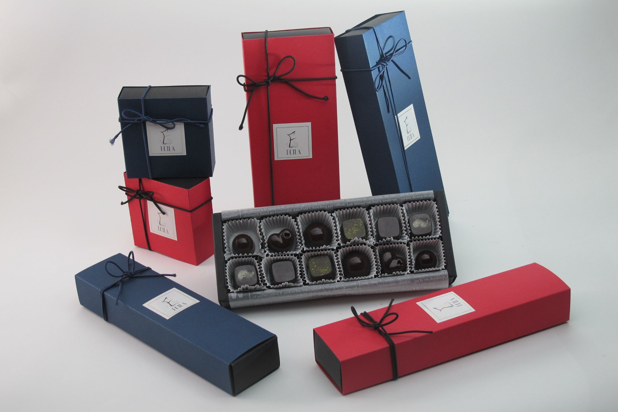 Ecila Sake Chocolates Gift Box Collection