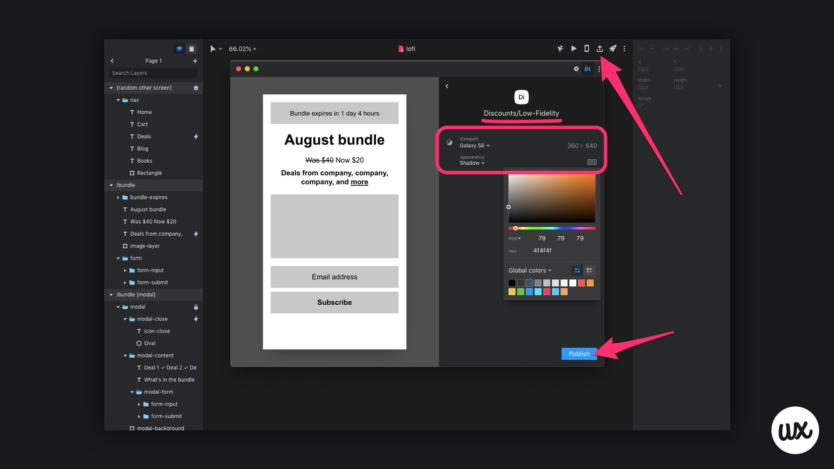 Publishing to InVision