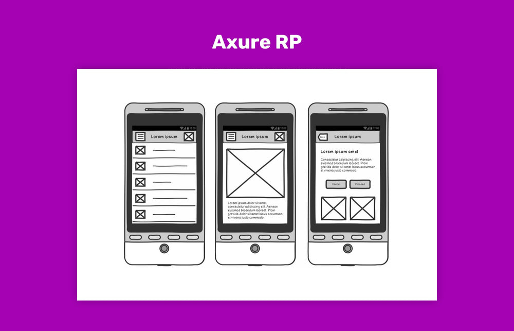 Axure RP, wireframe tool
