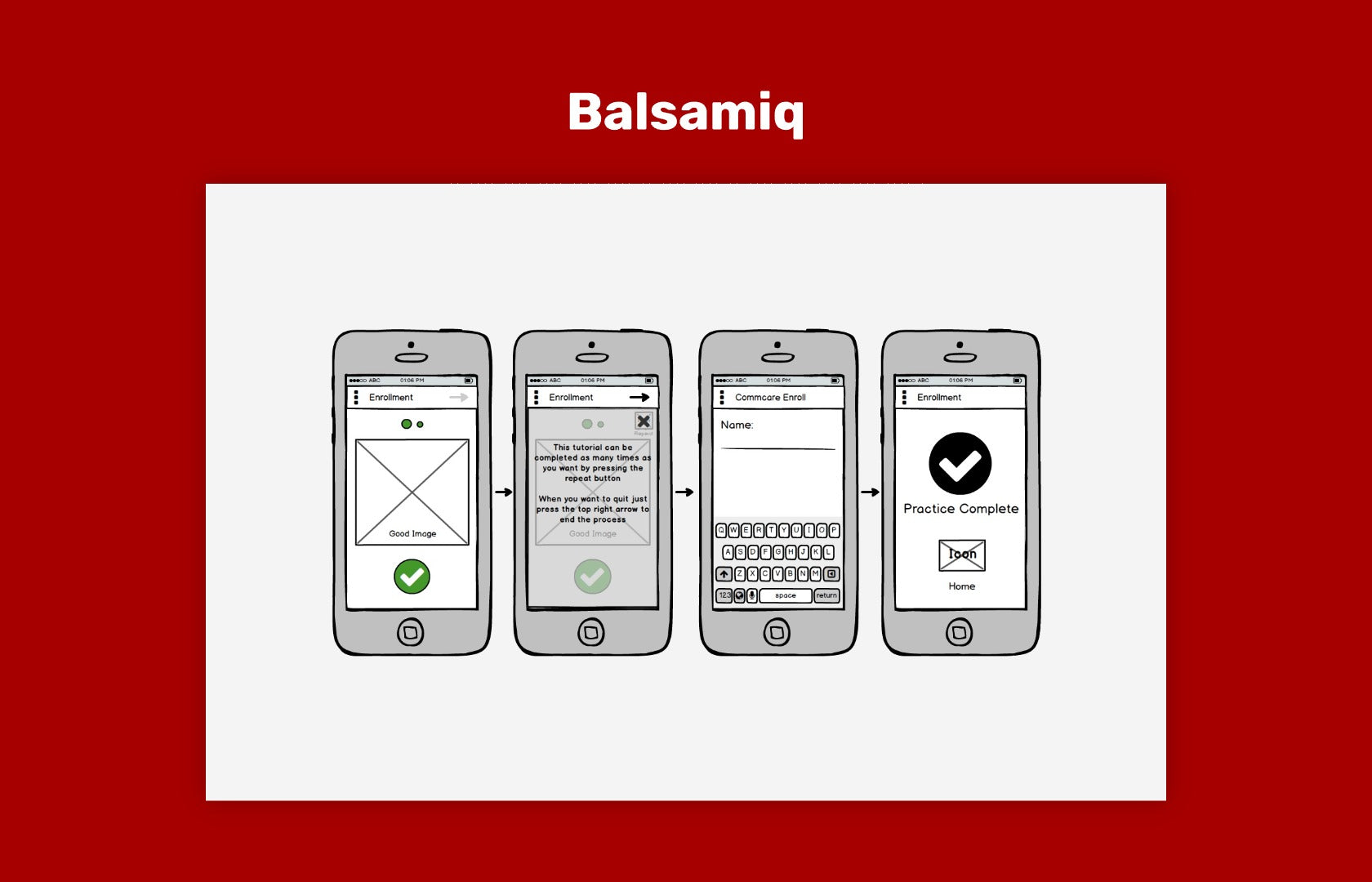 Balsamiq, rapid wireframing tool