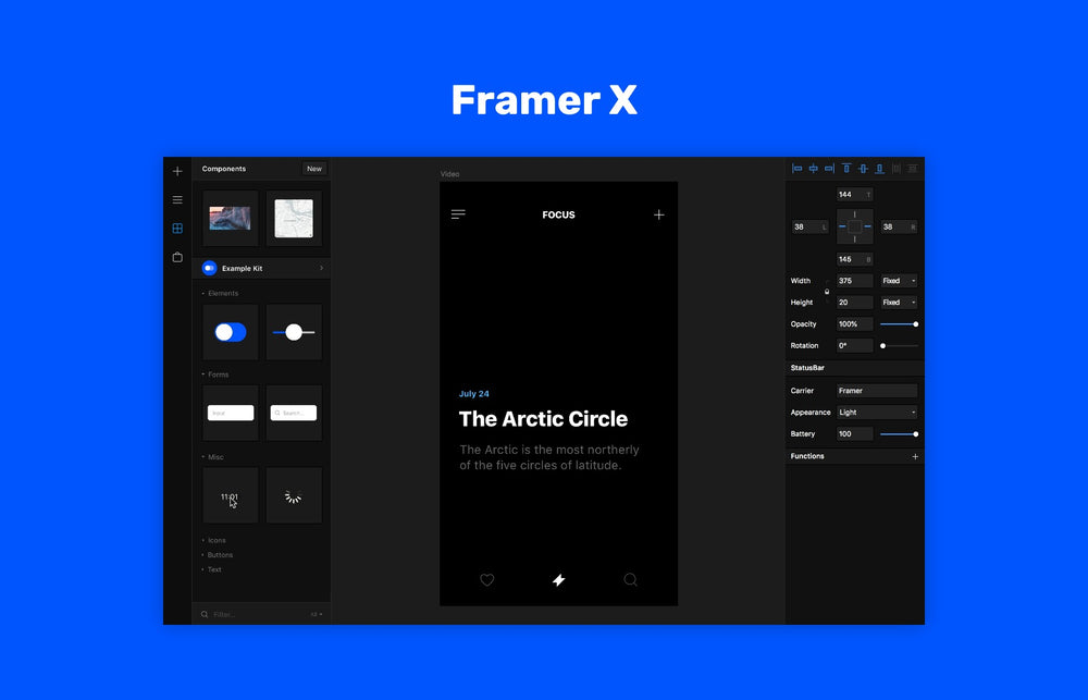 Framer X for macOS