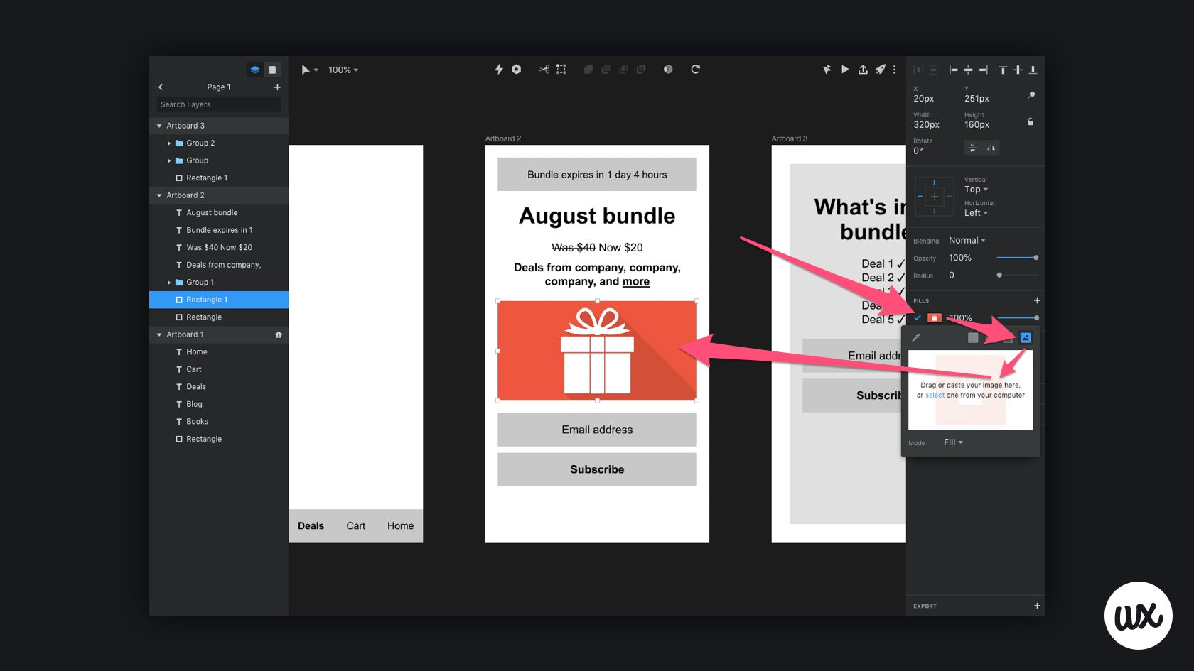 Importing images into InVision Studio