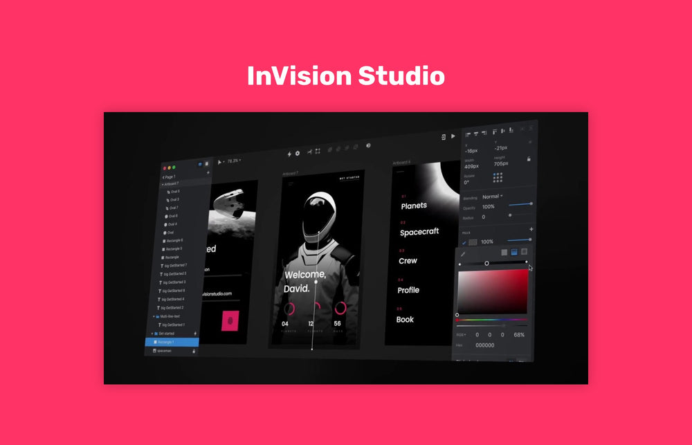 InVision Studio for macOS and Windows
