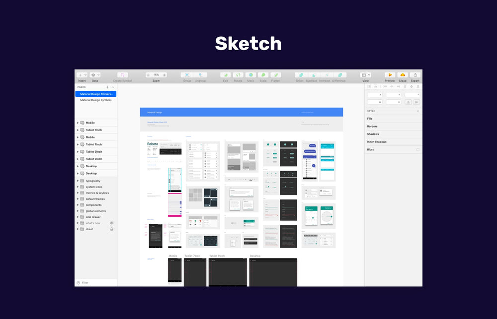 Sketch App for macOS