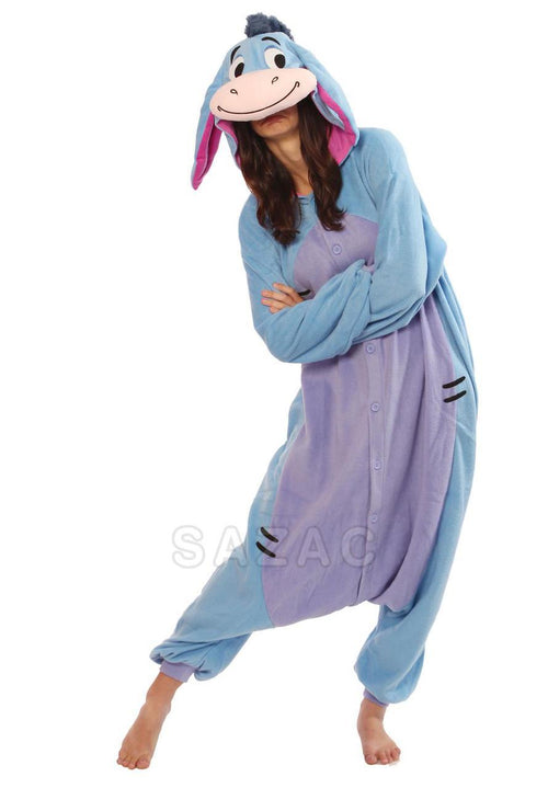 DISNEY'S EEYORE KIGURUMI - Adult Regular
