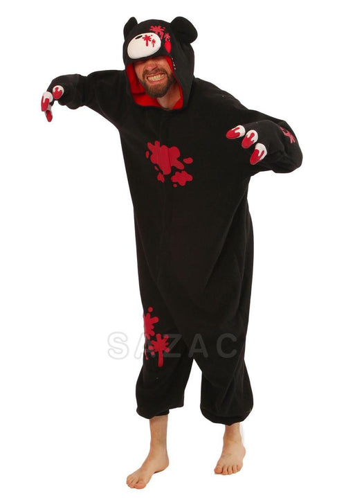 BLACK GLOOMY BEAR KIGURUMI - Adult Regular