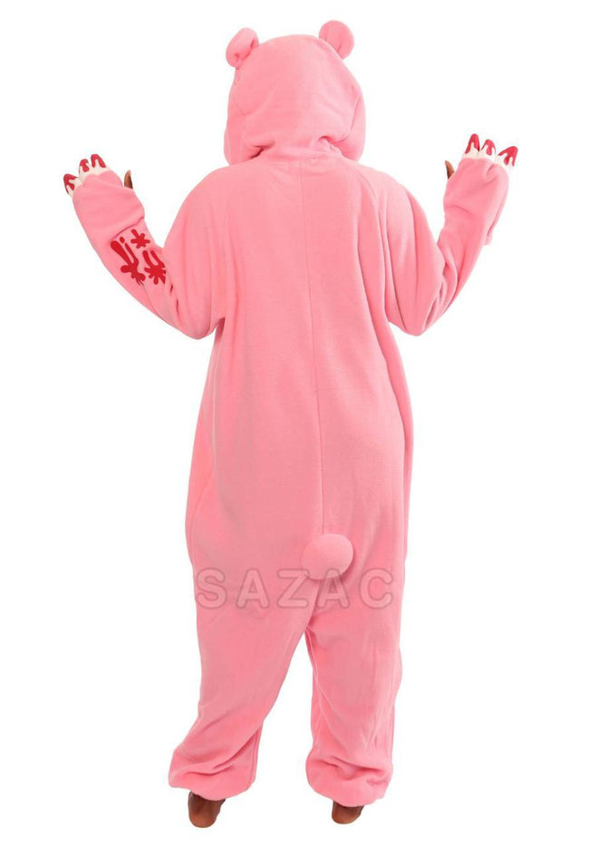 PINK GLOOMY BEAR KIGURUMI - Adult Regular