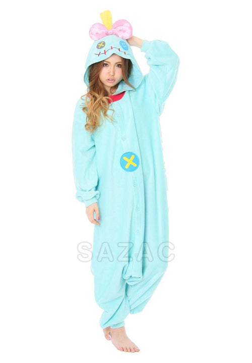 """SCRUMP DOLL"" FROM DISNEY'S LILO & STITCH KIGURUMI - Adult Regular"