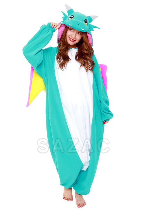 BLUE DRAGON KIGURUMI - Adult Regular