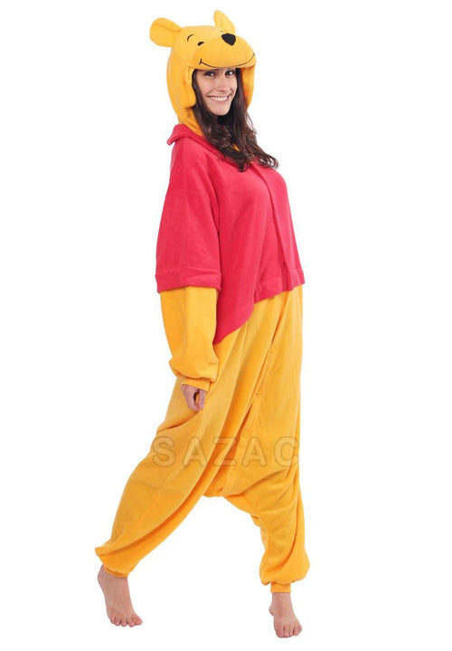 DISNEY'S WINNIE THE POOH KIGURUMI - Adult Regular
