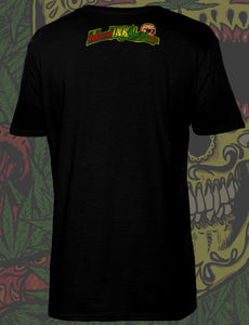 Men's Rasta Candy Skull T-Shirt
