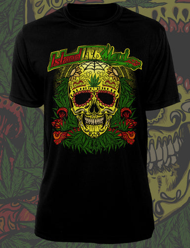 MENS RASTA CANDY SKULL