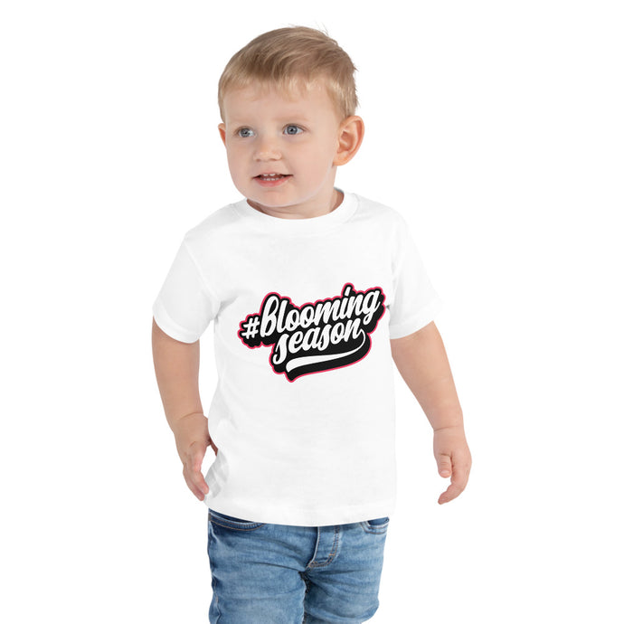 #BloomingSeason Toddler Short Sleeve Tee