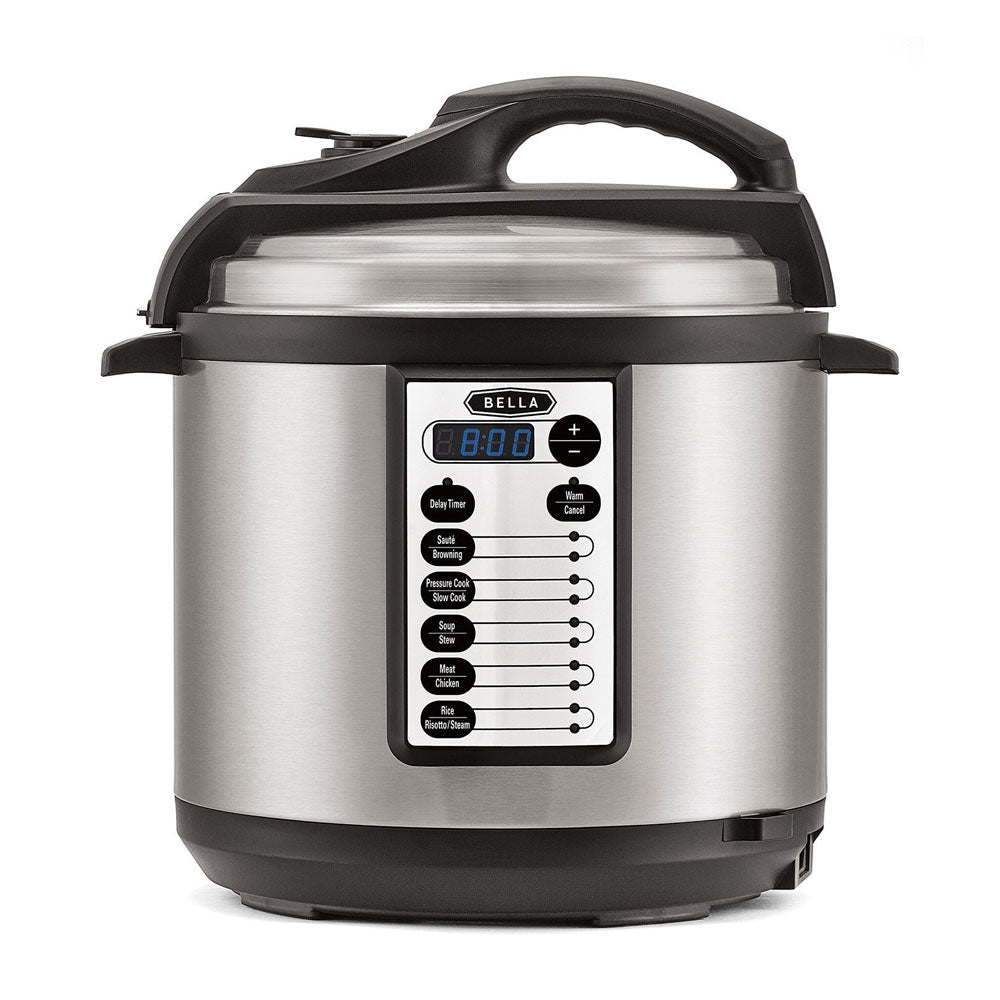 BELLA - 6 Quart Pressure Cooker