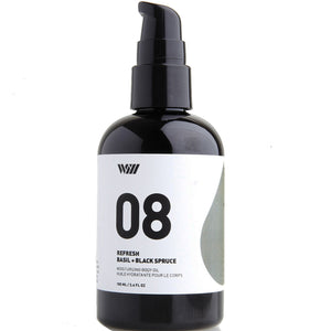 08: Moisturizing Body Oil