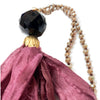 no. 109 silk tassel necklace