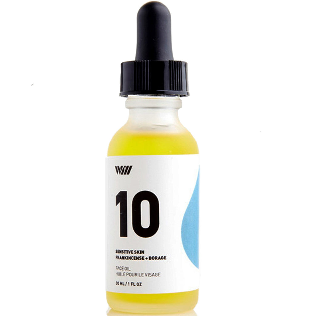 10: face oil: sensitive skin
