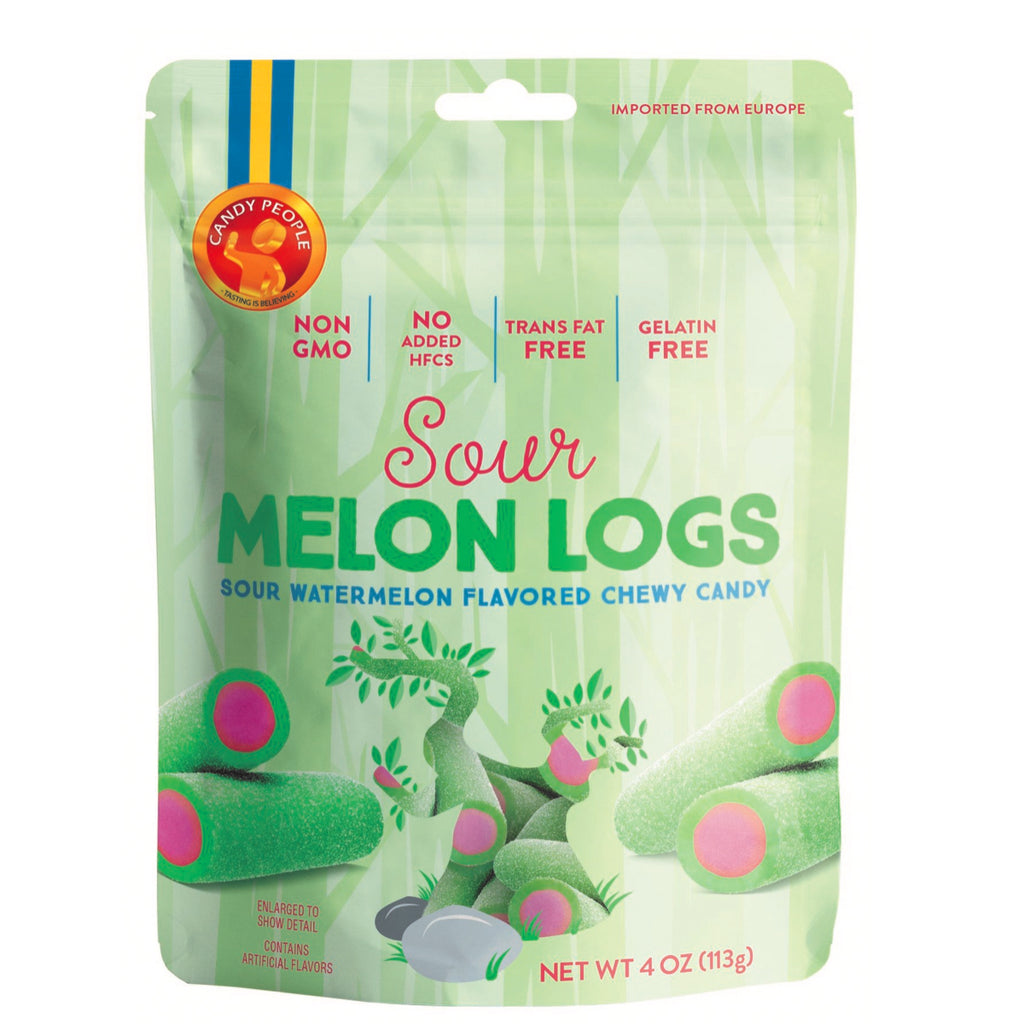 melon logs swedish gummies