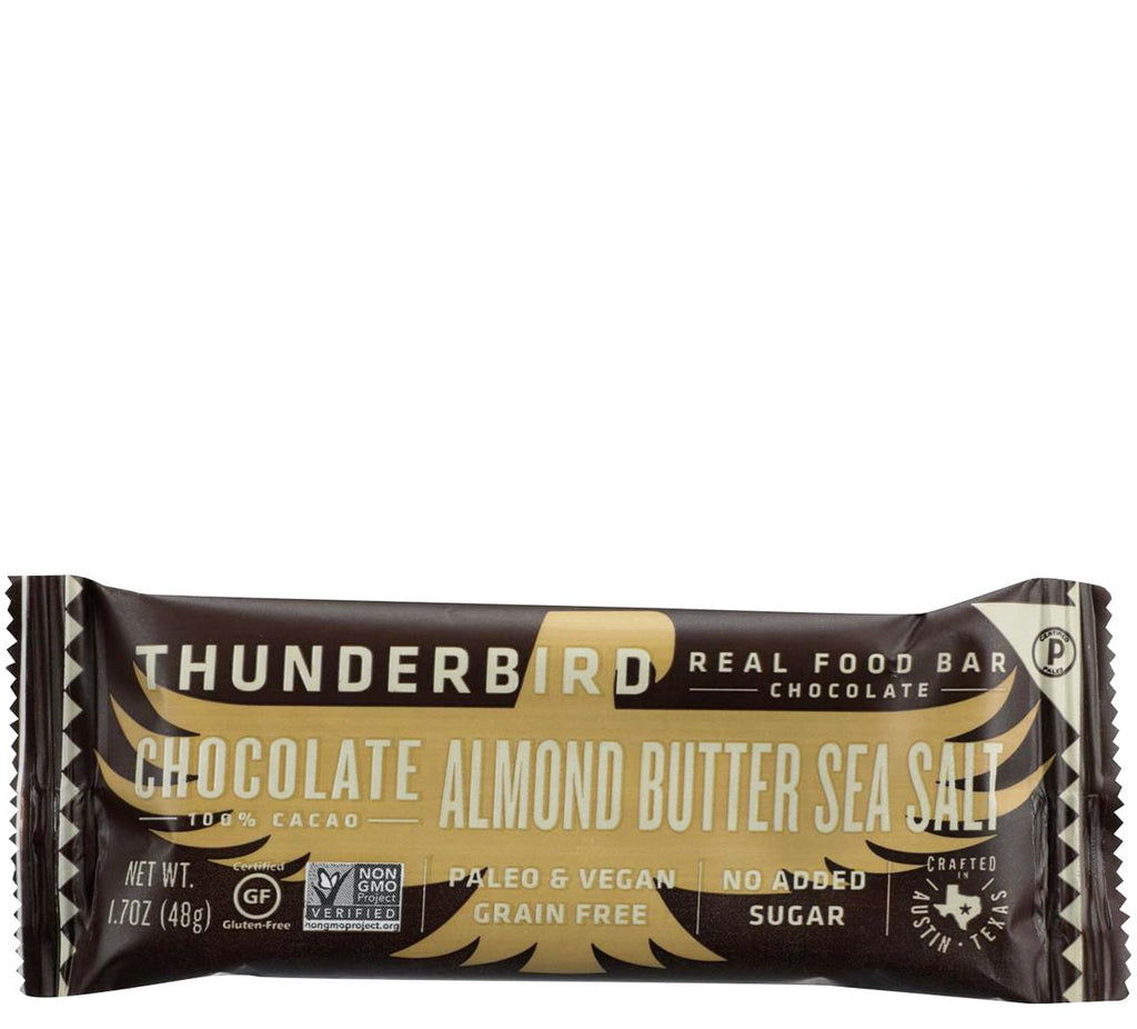 Chocolate Almond Butter Sea Salt bar