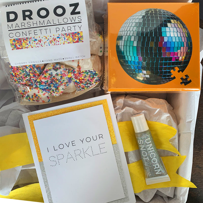 """Keep On Sparkling"" Gift Box"
