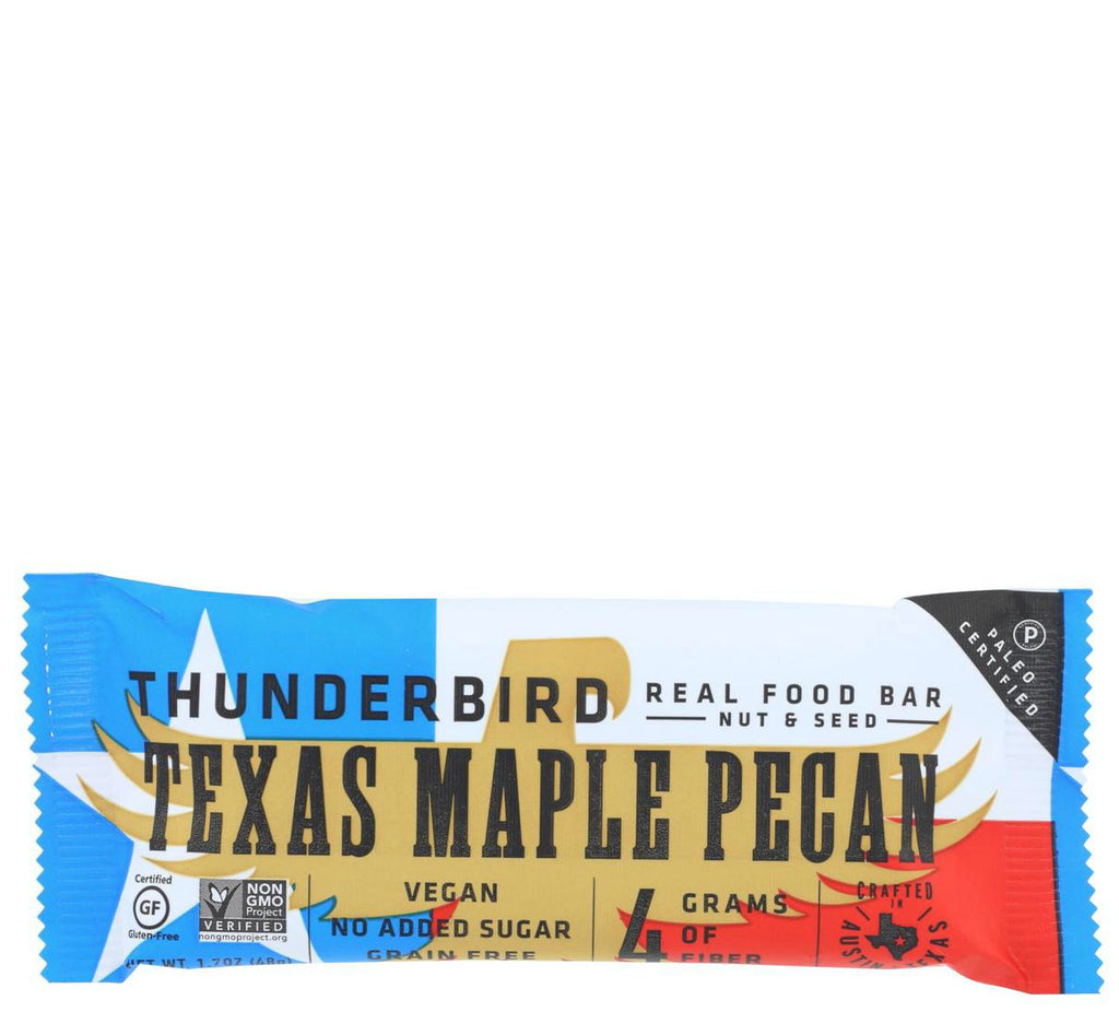 Texas Maple Pecan bar