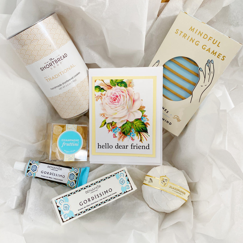 """Hello Dear Friend II"" Gift Box"